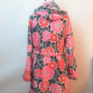 Vera Bradley Intimates   Sleepwear - Vera Bradley Pink Gray L XL Soft  Fleece Feel c73668792